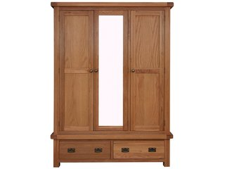 Oakleigh 3 Door 2 Drawer Robe