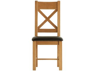 Oakleigh Cross Back Dining Chair Padded