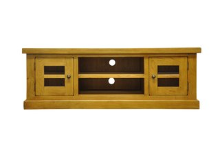 Litchfield Large TV Unit With Glass Doors