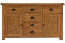 Oakleigh 2 Door 6 Drawer Sideboard