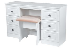 Pembroke Twin Pedestal Dressing Table