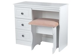 Pembroke Single Pedestal Dressing Table