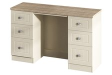 Vienna Twin Pedestal Dressing Table
