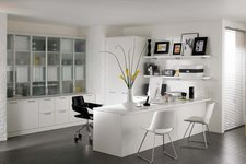 Fitted Office White