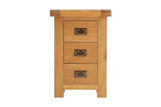 Oakleigh 3 Drawer Bedside